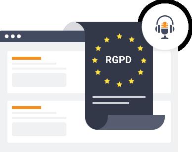 Cumplimiento con la Regulación General de Protección de información (RGPD)
